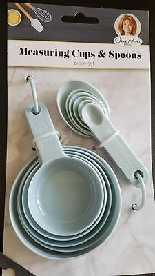 Jane Asher Measuring Cups and Spoons Set Plastic **TRACKED**