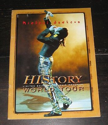 Michael Jackson HIStory World Tour 1997 Limited Edition Souvenir Program BOOK