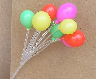 1:12 Scale Single Dolls House Miniature Toy Plastic Balloon Party Accessory