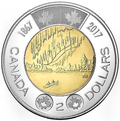 2017 Canada/canadian Dance Of The Spirits Toonie $2 Coin Bu Unc (Limited Time)