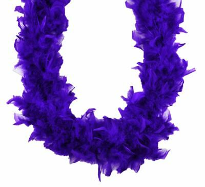 Mardi Gras Mix 120 gm 72 in 6 Ft Heavyweight Chandelle Feather Boa
