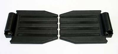 Wheelchair Parts Foot plates Front Rigging Footplate One Pair FP22 NEW