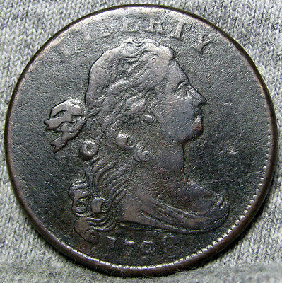 1798 Draped Bust Large Cent Penny  ---- TYPE COIN HIGH GRADE ---- #H268