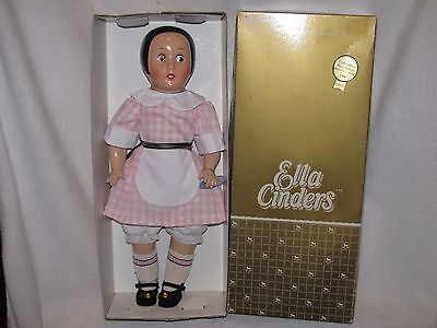 "17"" Horsman REPRODUCTION Ella Cinders Doll 1988 In Box"