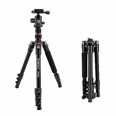 Universal Professional Aluminum Travel Tripod&Ball Head Portable For DSLR Camera