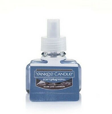 (6) Yankee Candle Scentplug Refill Oils-Warm Luxe Cashmere