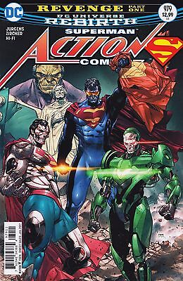 ACTION COMICS (2016) #979 - Cover A - DC Universe Rebirth - New Bagged