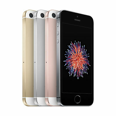Apple iPhone SE - 16GB - (AT&T) Smartphone - Silver Rose Gold Gray Gold
