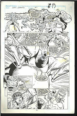 New Mutants #89 Page 19 Rob Liefield Comic Art 1St Cable Meets The New Mutants