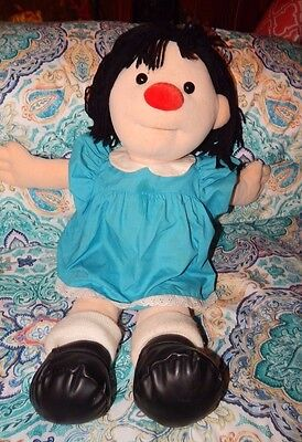 """Molly Large Plush Doll 26"""" Big Comfy Couch Stuffed Animal Toy Vintage 1997 RARE"""