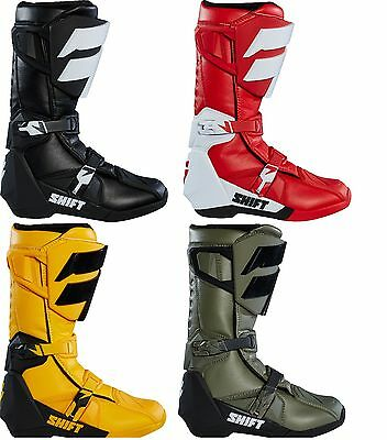 NEW 2018 SHIFT MX Whit3 Label Motocross Riding Boots All Colors Men's Sizing