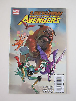 Lockjaw And The Pet Avengers  #1 Of 4 1St Print  Comic