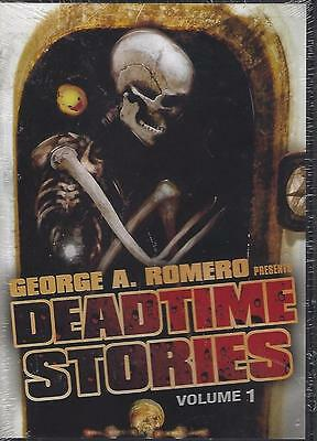 Dvd:  George A. Romero Presents Deadtime Stories Volume 1....New