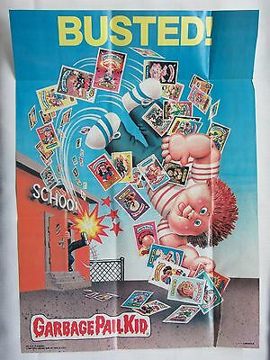 Garbage Pail Kids Posters #14&18 of 18 ~ Folded ~ 1986 Topps GPK