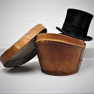 Victorian Hope Brothers Silk Top Hat & Case