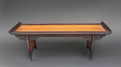 Old Chinese Carved Wood Stand for Vase or Statue