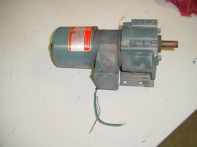 Dayton Split Phase Gear Motor 1/15 HP MODEL 2Z841A