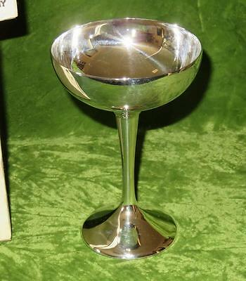 Set of 2 Vintage International Silver Silverplate Champagne Goblets NIB