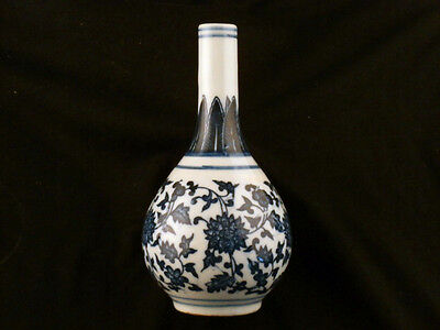 Excellent Chinese Qing Dy Blue & White Porcelain Little Vase I013
