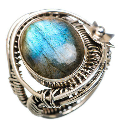 Labradorite Star 925 Sterling Silver Ring Size 7 Ana Co Jewelry R814828