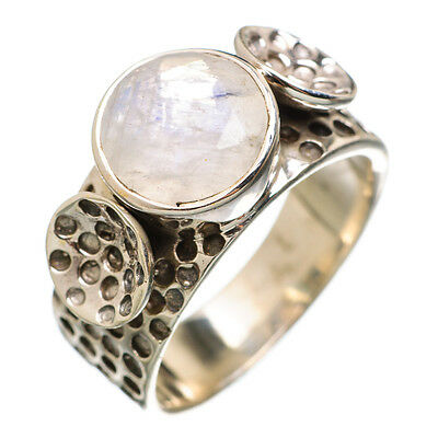 Rainbow Moonstone 925 Sterling Silver Ring Size 7 Ana Co Jewelry R840191