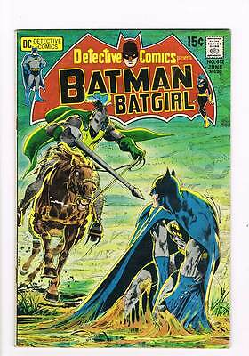 Detective Comics # 412  Classic Neal Adams cover  grade 3.5 scarce book !!