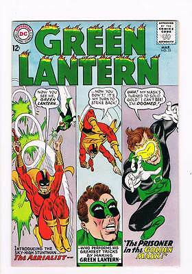 Green Lantern # 35 The Prisoner of the Golden Mask! grade 8.0 scarce book !!