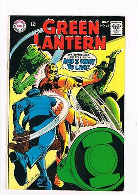 Green Lantern # 62 Steal Small, Rob Big ! grade 6.0 scarce book !!