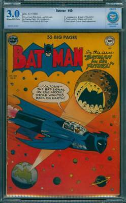 Batman # 59  First appearance of Deadshot !  CBCS 3.0 scarce Golden Age book !