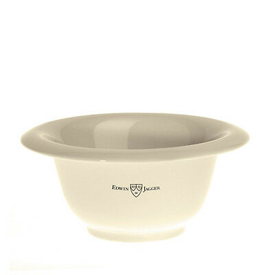 Edwin Jagger Ivory Porcelain Shaving Bowl RN17 plus Free 65g Shaving Soap