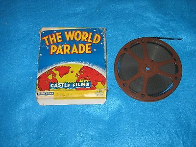 Vintage 8Mm Movie-Hawaii, The World Parade- By Castle Films