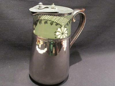 Silvoe Art Ware Burslem England Vintage Carafe Beautiful Hand Painted Design