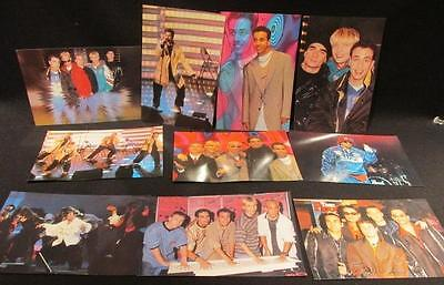 Backstreet Boys Productions 1997 Group of 11 Color Photos 10 different BSB