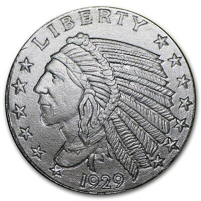 1/10 oz 999 Silber USA Incuse Indian Head Indianer 1929 Silver Round