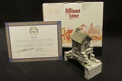 Bridgehouse Lilliput Lane Collection Miniature with Box & Deed