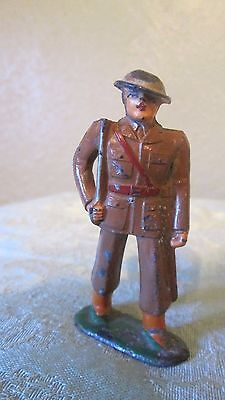 Vintage Wwi Style Lead Toy Soldier With Sword Barclay