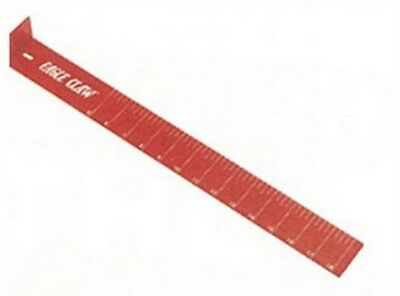 """Eagle Claw AECMB Red 18"""" Measuring Board"""