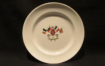 For Freedom's Cause Sutherland Art China 1914 Allied Forces Triple Entente Plate