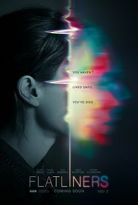 Flatliners - original DS movie poster - 27x40 D/S 2017 Advance