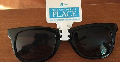 Boys The Children's Place Black Sunglasses  ~Ages 5+~  NWT