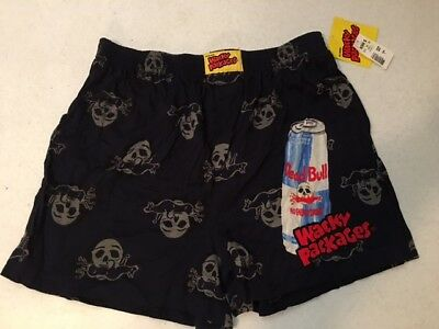 Wacky Package 2006 Clothing Dead Bull Boxers NWT Large (36-38)
