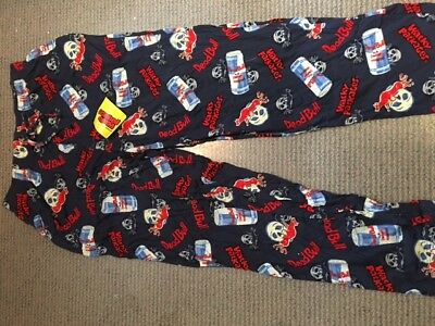 Wacky Package 2006 Clothing Dead Bull Pajama Pants NWT Large (36-38)