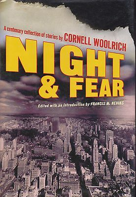 Night and Fear by Cornell Woolrich (2004, Hardcover) 1st Carroll &Graf edition