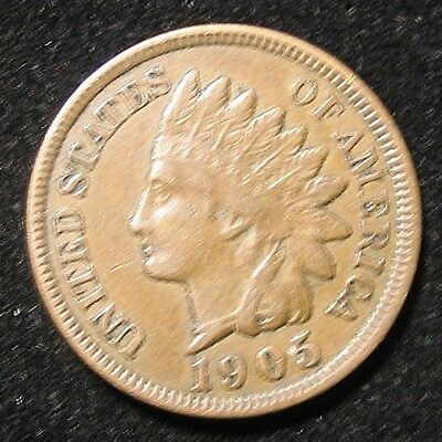 1905 Indian Head Cent Penny ** Liberty ** Estate Find Ihc47