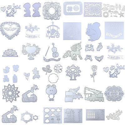 Metal Die Cutting Dies Stencil For DIY Scrapbooking Album Card Paper Decor Craft