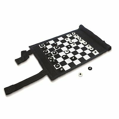 Games In A Bag Chess & Checkers Set Travel Edition Portable Draughts Board Game
