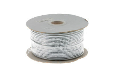 Silver Satin Modular Cable, 4 Conductor, 1000 Ft., Lifetime Warranty