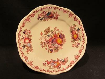 Fruit Basket Pattern Vintage Mason's Ironstone Footed Compote #79
