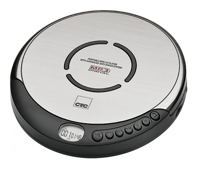 Discman tragbarer MP3 CD-Player CTC CDP 7001 mit Anti-Schock