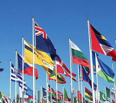 3 x 5 FT World Country National Polyester European America Asia Flags